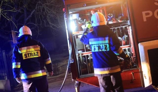 Pożar w mieszkaniu przy ul. Słonecznej w Katowicach