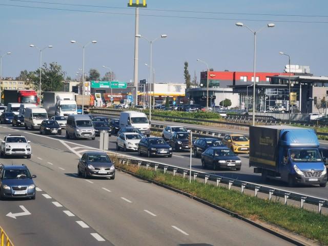 Katowice zablokowane. Przez remont węzła Giszowiec i zwężenie na DK 86