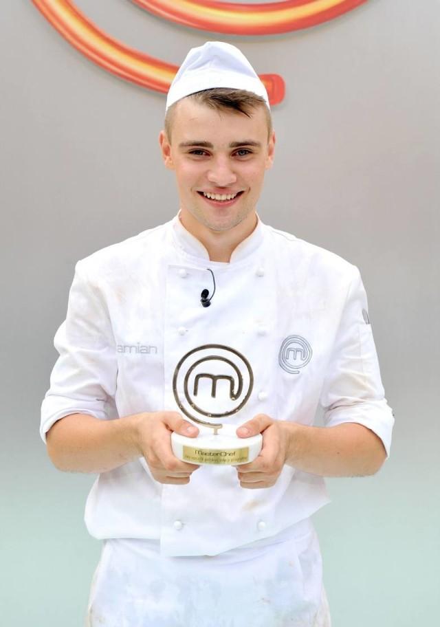 """Damian Kordas, zwycięzca 4 edycji  """"MasterChefa"""""""