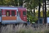 Próba samobójcza na przejeździe kolejowym w Bierutowie