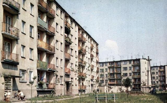 Tak wyglądały osiedla mieszkaniowe w Zduńskiej Woli w ubiegłym wieku