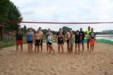 Rodzinny turniej w siatkówkę plażową w Laskowie