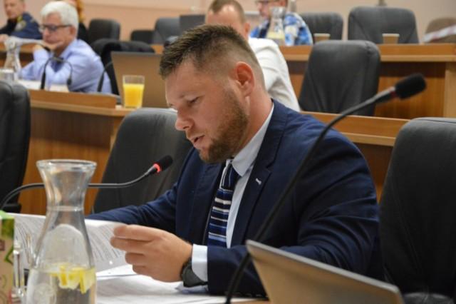 Łukasz Mituła - radny klubu Ruch Miejski