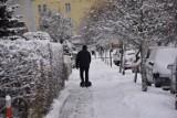 Zima 2021 w Sławnie. Piękno białego puchu w mieście ZDJĘCIA, WIDEO