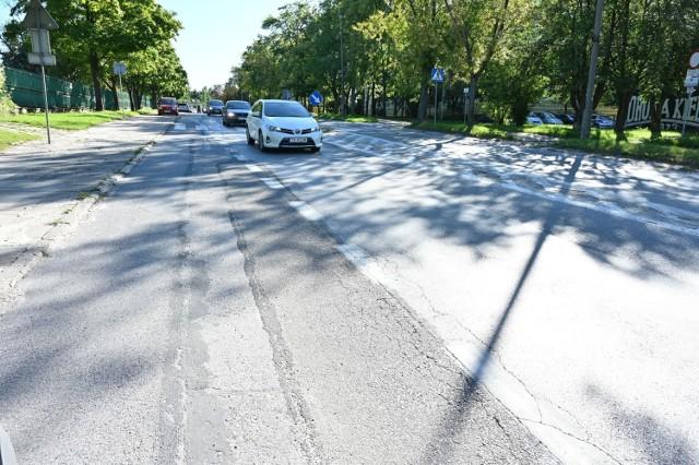 Ulica Szczecińska zdaniem mieszkańców jest w opłakanym stanie.