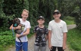 Trzech nastolatków z Dębicy uratowało małego szczeniaczka