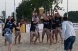 Turniej beach soccera w Poddębicach. Miejscowa drużyna BSC Termy Poddębice walczy o Ekstraklasę ZDJĘCIA