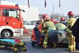 Wypadek na ulicy Wrocławskiej w Kaliszu. Kierowca bmw trafił do szpitala. ZDJĘCIA