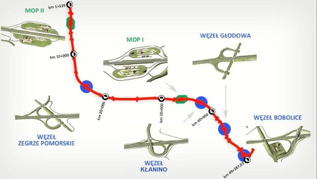 Mapa S11 i podpisanie umowy na odcinek Zegrze - Kłanino
