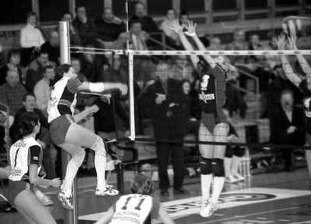 Dwa zwycięstwa Wulkanu w Szczecinie bardzo przybliżyły częstochowski zespół do awansu do serii A I ligi.ZDJĘCIE: JACENTY DĘDEK