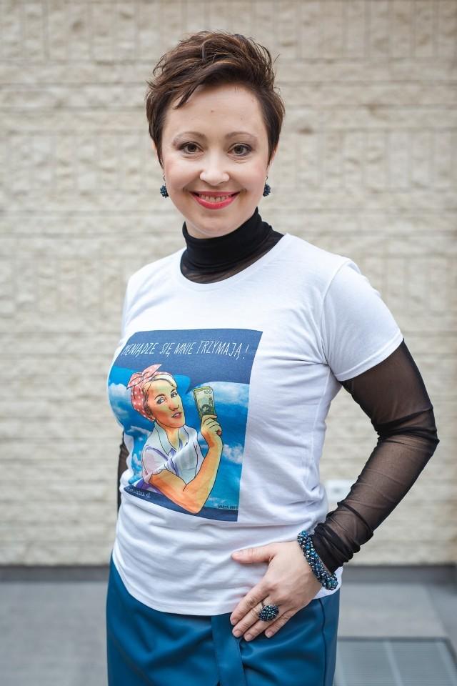 Ewa Czerwińska - ambasadorka Klubu Kobieta i Pieniądze w Szamotułach