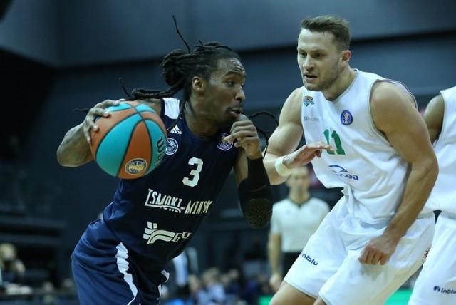Koszykarze Enei Zastalu BC Zielona Góra wygrali w Mińsku 80:75.