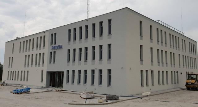 Tak prezentuje się nowa siedziba policji w Krapkowicach.