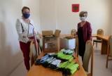 Maseczki z Lipki dla złotowskiego szpitala
