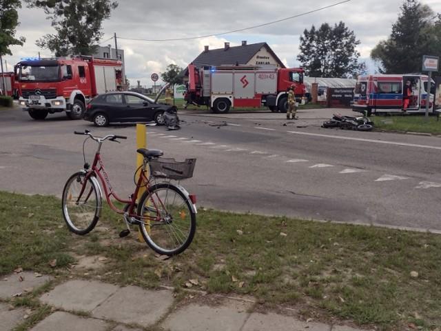 Śmiertelny wypadek w Brzegu 28.08.2021r.