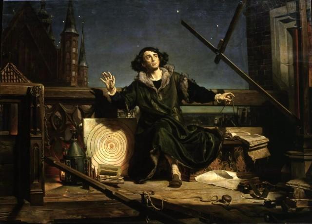 """National Gallery zapowiada wystawę, zaznaczając, że obraz """"łączy dwie najsłynniejsze postacie Polski"""" oraz """"upamiętnia jedno z najważniejszych nazwisk w historii nauki""""."""