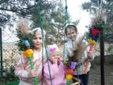 Gmina Łubowo. Piękne palmy wielkanocne wykonane przez mieszkańców