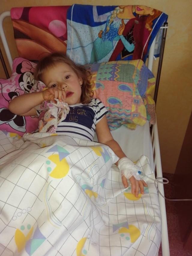 Mała Wiktoria po tygodniu zawirowań trafiła do szpitala. Jej wyniki były złe.