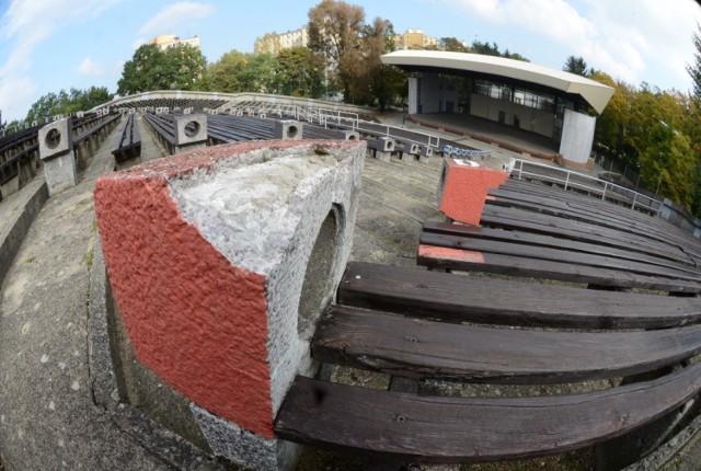 Zielonogórski amfiteatr imienia Anny German.
