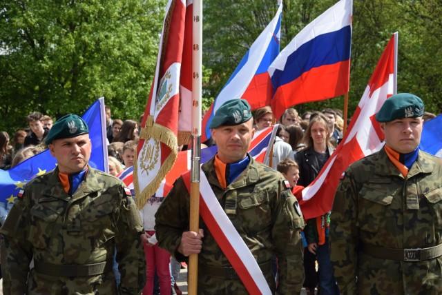 Wspólne obchody 74. rocznicy zakończenia II wojny światowej i Dnia Unii Europejskiej