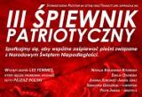 Pruszcz Gdański: W poniedziałek III Śpiewnik patriotyczny. Okazja do zaśpiewania pieśni związanych ze Świętem Niepodległości