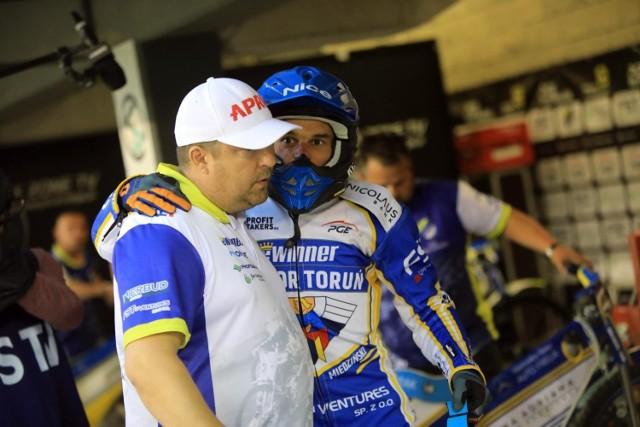 Tomasz Bajerski i Adrian Miedziński