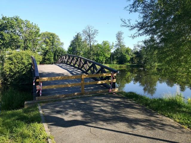 Mostek grozi zawaleniem i konieczna jest jego przebudowa!