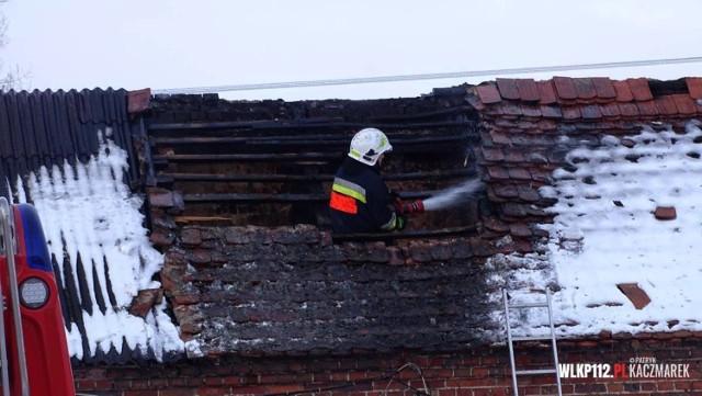 W piątek, 12 lutego doszło do pożaru budynku gospodarczego w Siekowie.