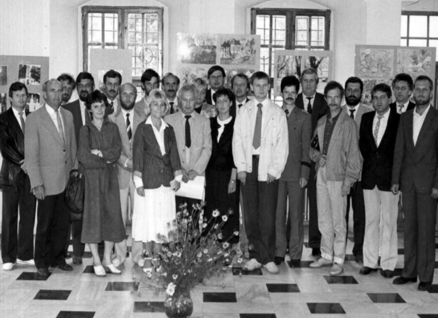 Rok 1990. Rada Miejska I kadencji (po transformacji...