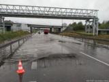 Podtopienia w Jastrzębiu-Zdroju: zalana Droga Główna Południowa, Rybnicka, Wodzisławska. Zobaczcie zdjęcia z akcji strażaków