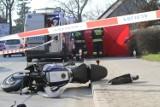 Tragedia w Chełmży. Kobieta w ciąży i mężczyzna zginęli na motocyklu