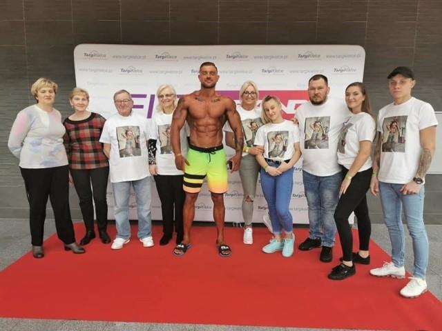 To pierwszy start Dominika Siejkowskiego w zawodach kulturystycznych. Młody słubiczanin zajął drugie miejsce