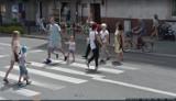 Kogo my tu mamy?! Mieszkańcy Nowej Soli przyłapani przez kamery Google Street View w 2017 roku