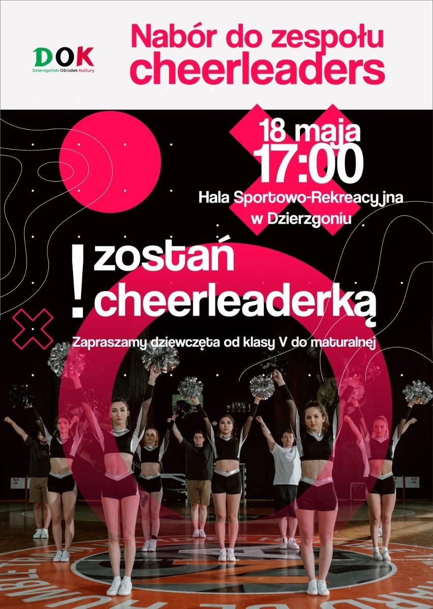 Dzierzgoński Ośrodek Kultury zaprasza do nowego zespołu cheerleaders