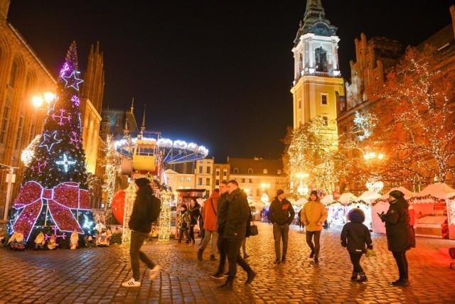 11.12.2019 torun iluminacje swiateczne boze narodzenie   fot. jacek smarz / polska press
