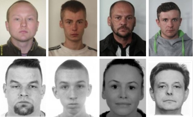 Kliknij w kolejne zdjęcie. Informacje o poszukiwanych są ze strony slaska.policja.gov..pl, dostępne 16 lipca 2020 roku