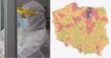 Koronawirus w Śląskiem. Gdzie wskaźnik zakażeń jest największy? Sprawdź!