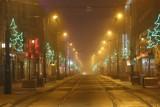 Sylwester 2020 w Katowicach. Na ulicach pustki - mieszkańcy zostali w domach