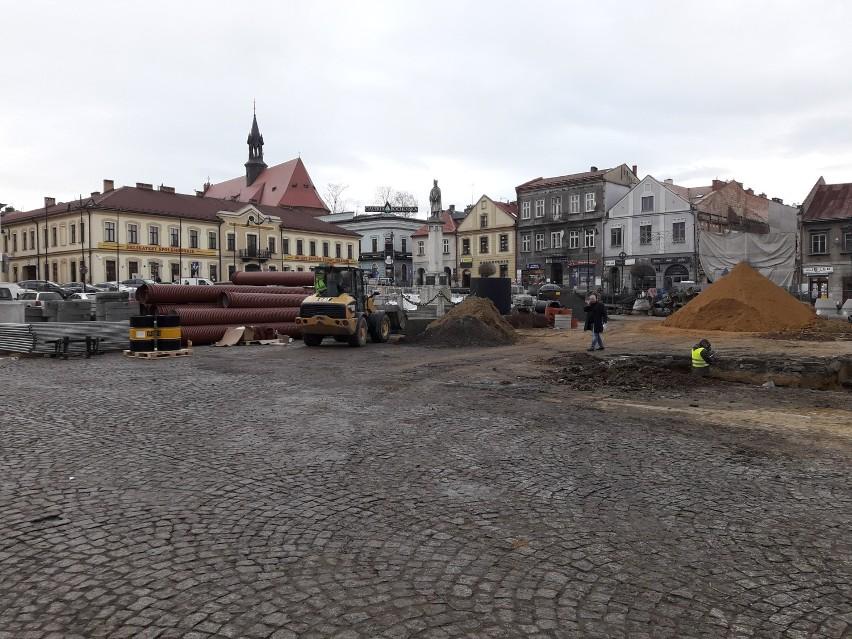 Trwa rewitalizacji centrum Bochni