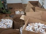 Zlikwidowano nielegalną fabrykę papierosów. Przejęty towar był warty 2 miliony zł [ZDJĘCIA]