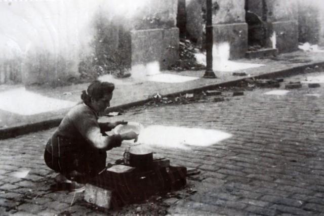 Powstanie Warszawskie - zdjęcie wykonał Zbigniew Grochowski.