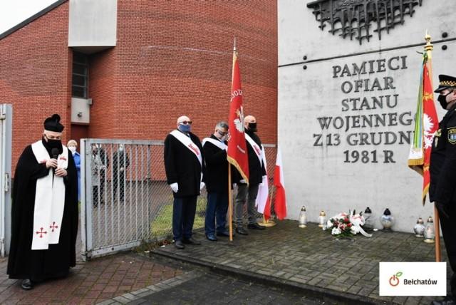 Bełchatów. Obchody 39. rocznicy wprowadzenia stanu wojennego w Polsce