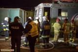 Płonąca lokomotywa na trasie Ostrów Wielkopolski - Kluczbork. Maszynista był pod wpływem alkoholu