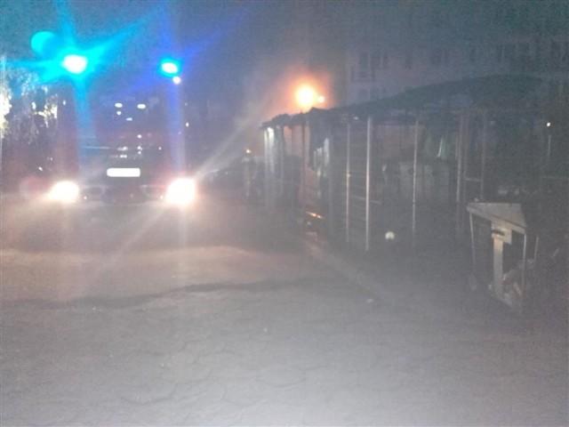 Pożar w Bartoszycach