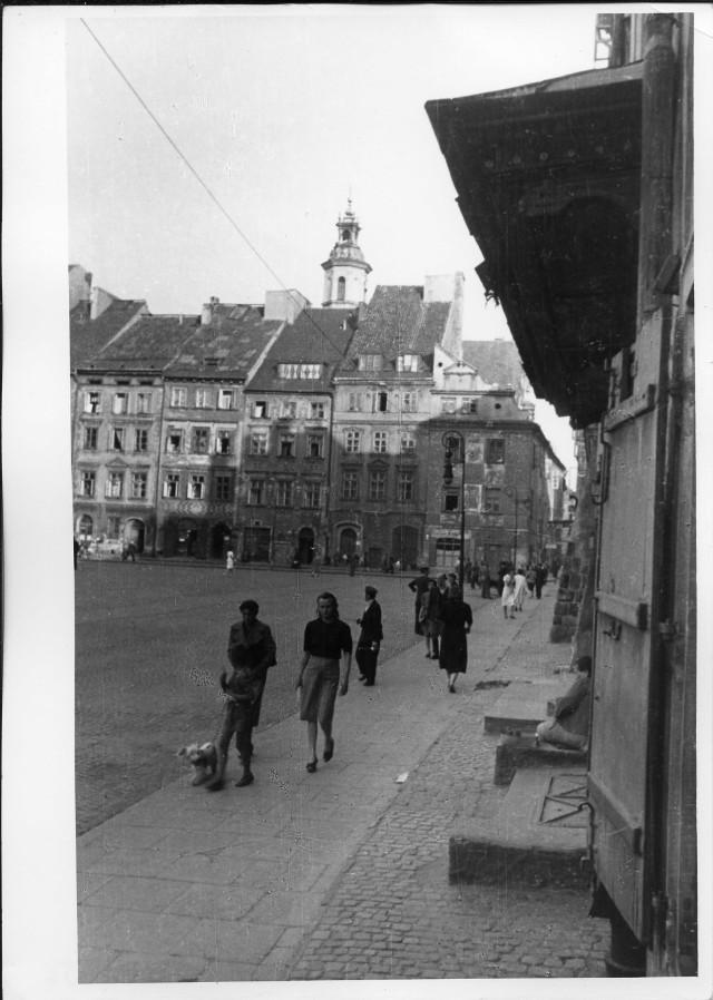 Nieistniejące pałace, zaułki Mariensztatu, nadwiślańskie widoki. Okupowana Warszawa w obiektywie niemieckiego fotografa [ZDJĘCIA]