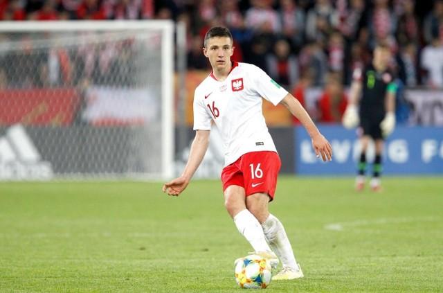 Bartosz Slisz zadebiutował w reprezentacji Polski.