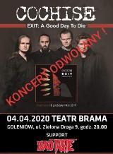 Dyskoteka zamknięta, koncert w Teatrze Brama odwołany
