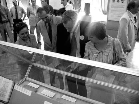 """Wystawa """"Wspólnota lokalna - Częstochowa"""" obrazuje historię naszego samorządu.  Foto: JAKUB MORKOWSKI"""