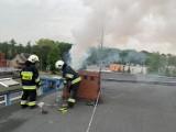 Pożar w Szamocinie: W jednym z domów zapalił się komin. Było dużo dymu [ZDJĘCIA]
