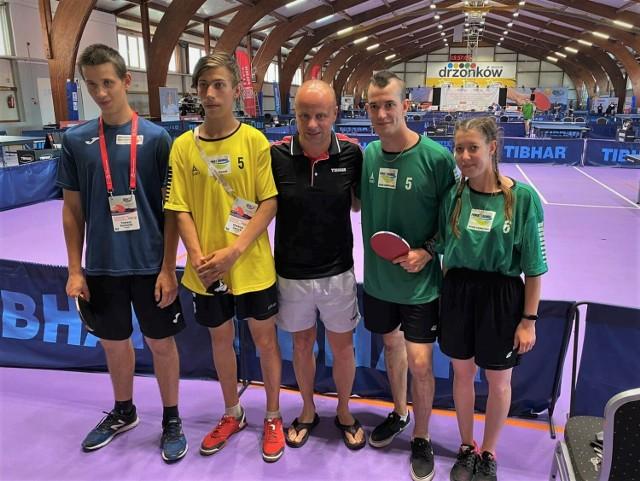 Sukcesy żagańskich tenisistów na ogólnopolskich zawodach w Drzonkowie